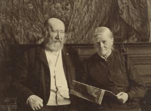 Mesdag en zijn vrouw, 1908